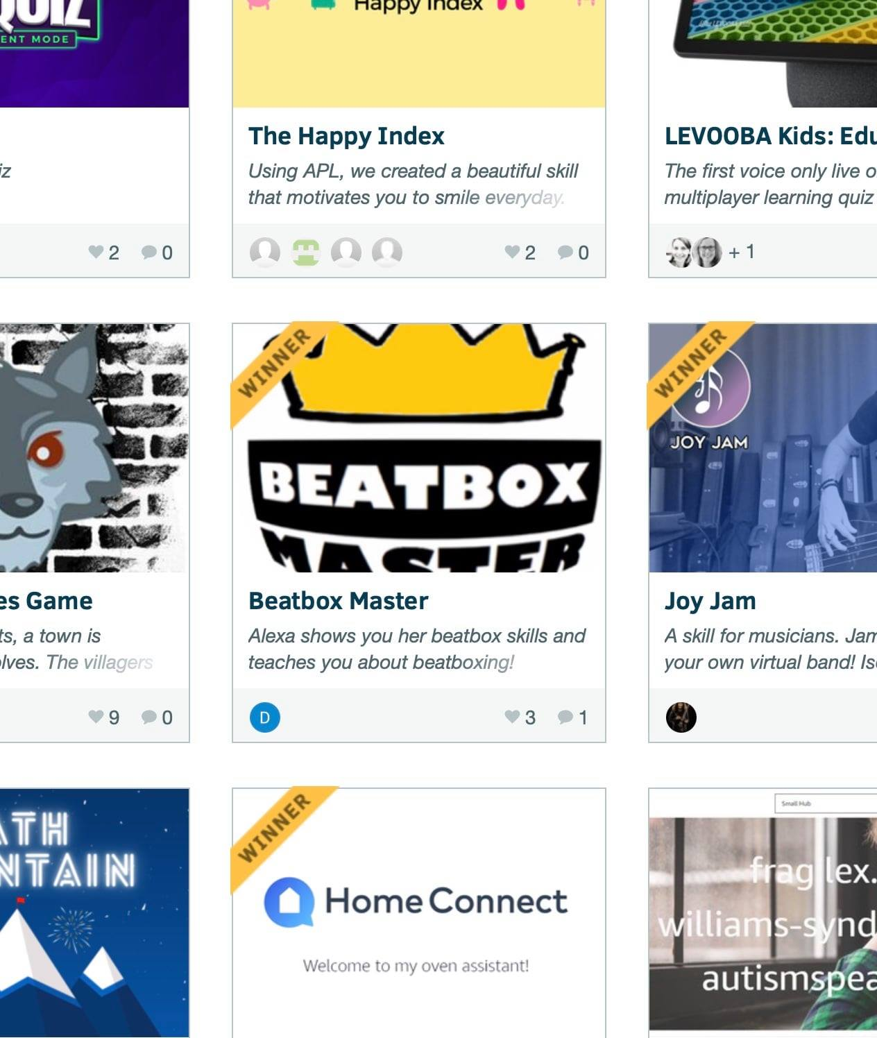 Alexa Skills Competition – 'Beatbox Master' in Top 10